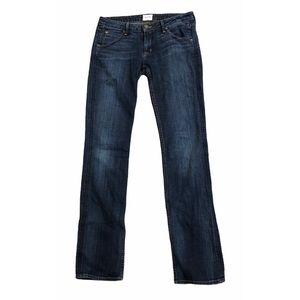 Hudson Signature Bootcut Jeans Mid Rise Size 27